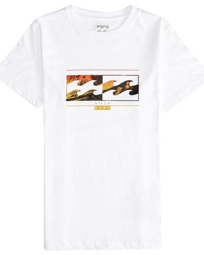 2 Inversed - Camiseta de Manga Corta para Chicos Blanco Q2SS12BIF9 Billabong