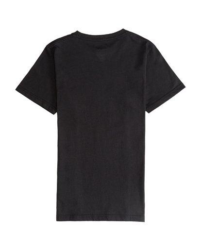 3 Inversed - Camiseta de Manga Corta para Chicos Negro Q2SS12BIF9 Billabong