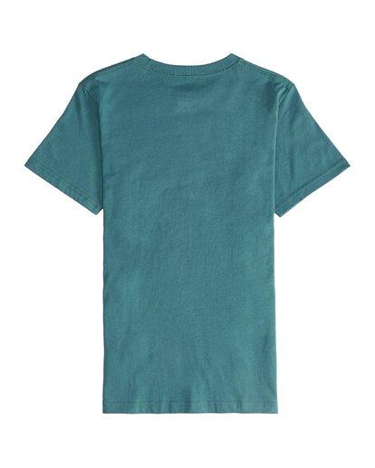 3 Inversed - Camiseta de Manga Corta para Chicos Verde Q2SS12BIF9 Billabong