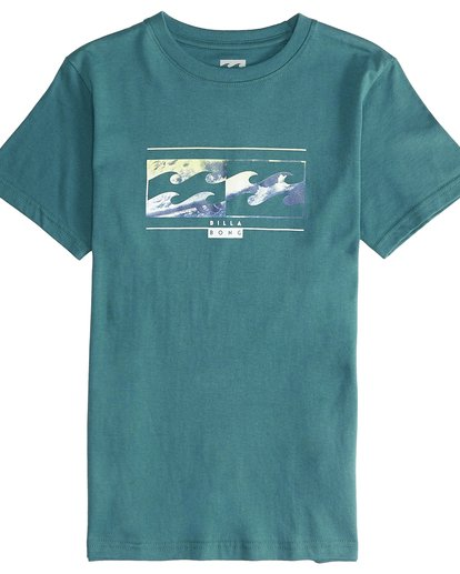 2 Inversed - Camiseta de Manga Corta para Chicos Verde Q2SS12BIF9 Billabong