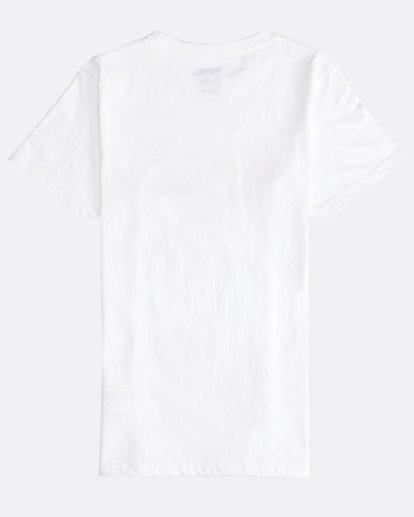1 Inversed - Camiseta de Manga Corta para Chicos Blanco Q2SS12BIF9 Billabong