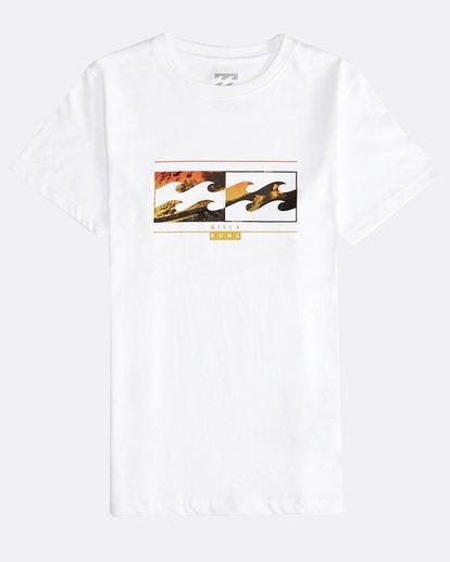 0 Inversed - Camiseta de Manga Corta para Chicos Blanco Q2SS12BIF9 Billabong