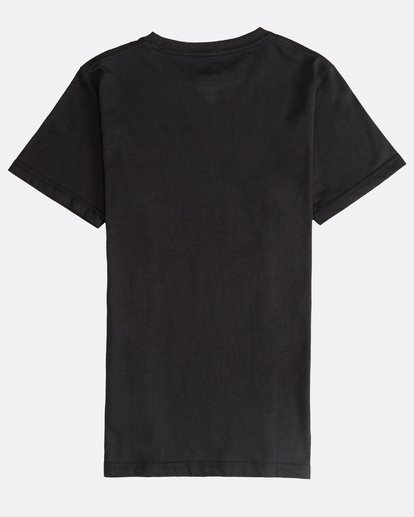 1 Inversed - Camiseta de Manga Corta para Chicos Negro Q2SS12BIF9 Billabong