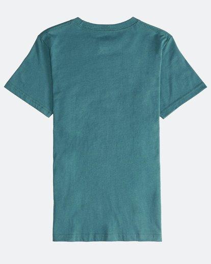 1 Inversed - Camiseta de Manga Corta para Chicos Verde Q2SS12BIF9 Billabong