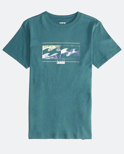 0 Inversed - Camiseta de Manga Corta para Chicos Verde Q2SS12BIF9 Billabong