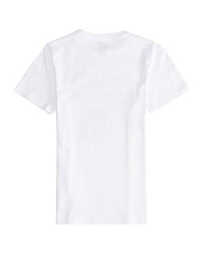 3 Step Back - T-Shirt für Jungen Weiss Q2SS13BIF9 Billabong
