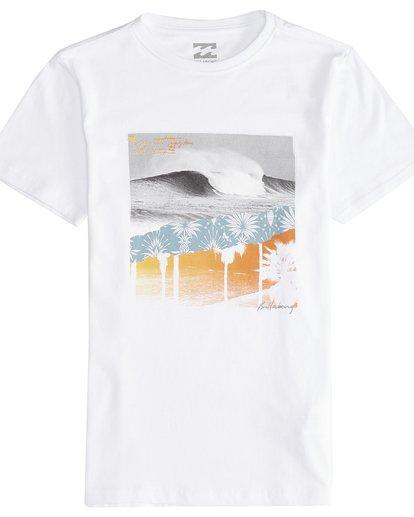 2 Step Back - T-Shirt für Jungen Weiss Q2SS13BIF9 Billabong