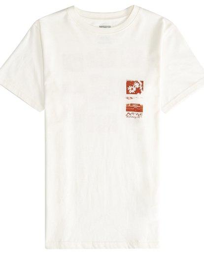 2 Exposure - T-Shirt für Jungen Weiss Q2SS15BIF9 Billabong