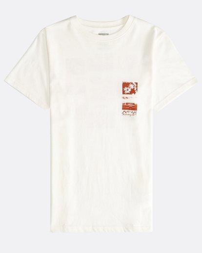 0 Exposure - T-Shirt für Jungen Weiss Q2SS15BIF9 Billabong