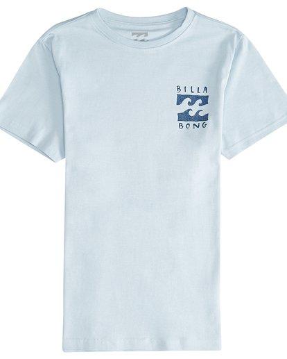 2 Hifive - Camiseta de Manga Corta para Chicos Azul Q2SS16BIF9 Billabong