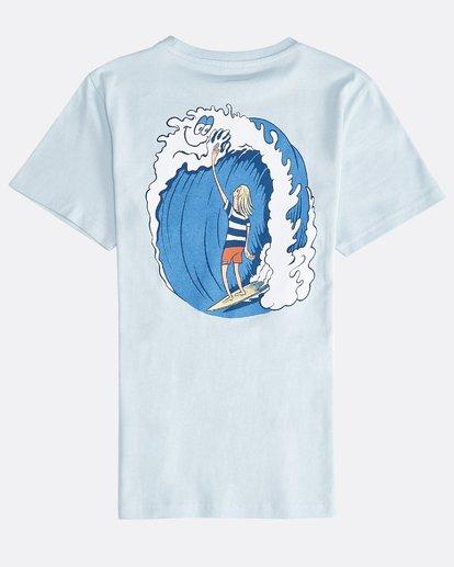 1 Hifive - Camiseta de Manga Corta para Chicos Azul Q2SS16BIF9 Billabong
