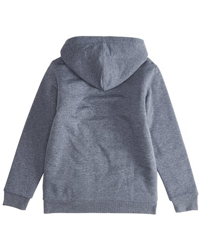 3 Trade Mark - Zip Sherpa Hoodie Boy for Boys Blue Q2ZH01BIF9 Billabong