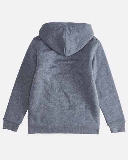1 Trade Mark - Zip Sherpa Hoodie Boy for Boys Blue Q2ZH01BIF9 Billabong