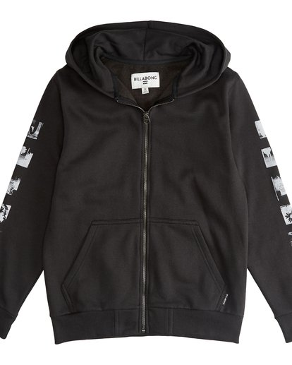 2 Exposure - Zip Hoodie Boy for Boys Black Q2ZH03BIF9 Billabong