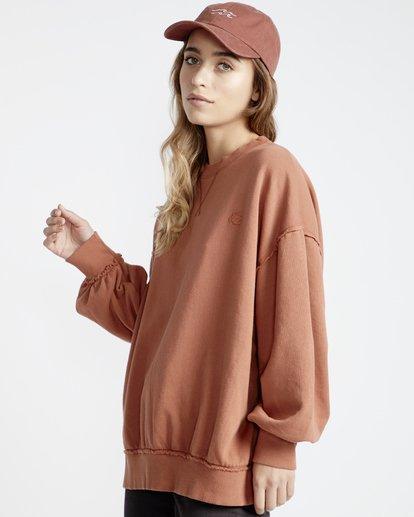 3 Organic - Sudadera con Cuello Redondo para Mujer  Q3CR02BIF9 Billabong