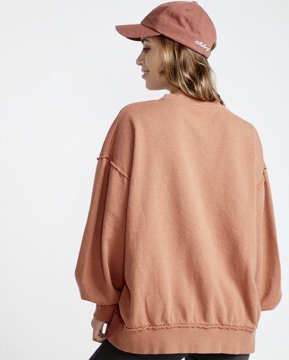 4 Organic - Sudadera con Cuello Redondo para Mujer  Q3CR02BIF9 Billabong