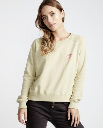 0 Laguna Beach - Pullover für Frauen Grün Q3CR04BIF9 Billabong