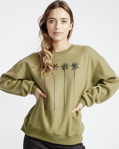 0 Project - Fleece für Frauen Grün Q3CR05BIF9 Billabong