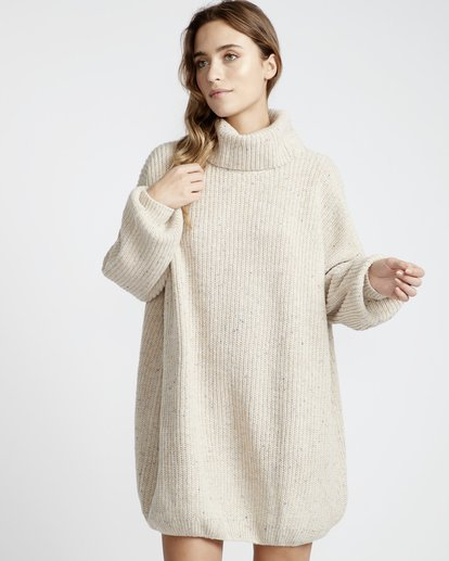 2 Free World - Vestido para Mujer Blanco Q3DR03BIF9 Billabong