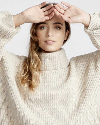 6 Free World - Vestido para Mujer Blanco Q3DR03BIF9 Billabong