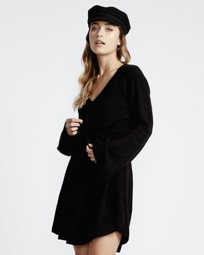 3 Crazy Life - Vestido para Mujer Negro Q3DR04BIF9 Billabong