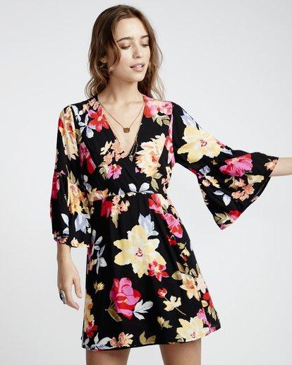 3 Divine - Vestido para Mujer Negro Q3DR05BIF9 Billabong