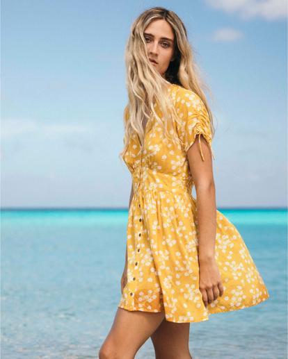 1 Twirl Twist - Kleid für Frauen Gelb Q3DR10BIF9 Billabong