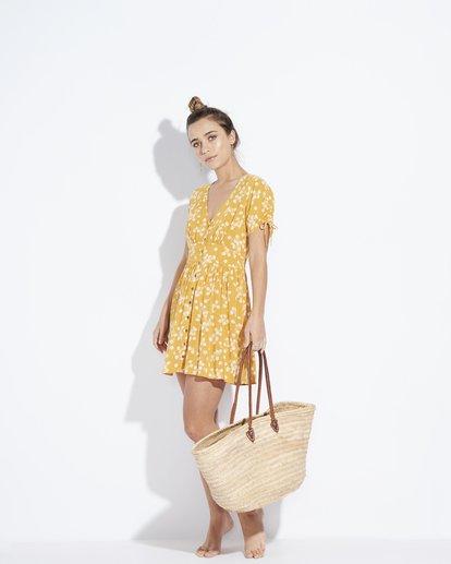 2 Twirl Twist - Kleid für Frauen Gelb Q3DR10BIF9 Billabong