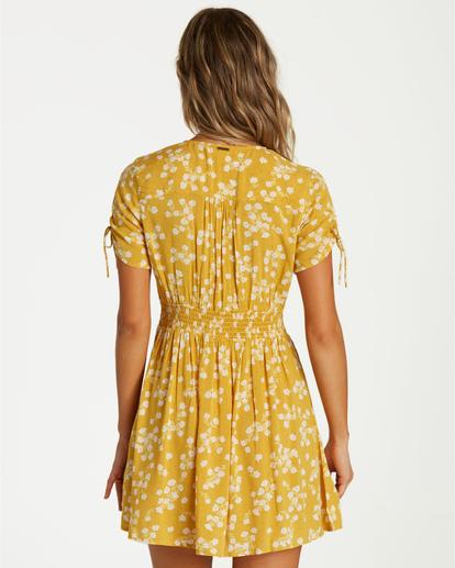 7 Twirl Twist - Kleid für Frauen Gelb Q3DR10BIF9 Billabong