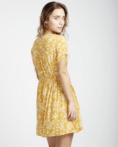 5 Twirl Twist - Kleid für Frauen Gelb Q3DR10BIF9 Billabong