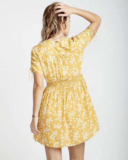 6 Twirl Twist - Kleid für Frauen Gelb Q3DR10BIF9 Billabong