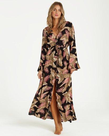 3 Valletta - Robe pour Femme Noir Q3DR14BIF9 Billabong