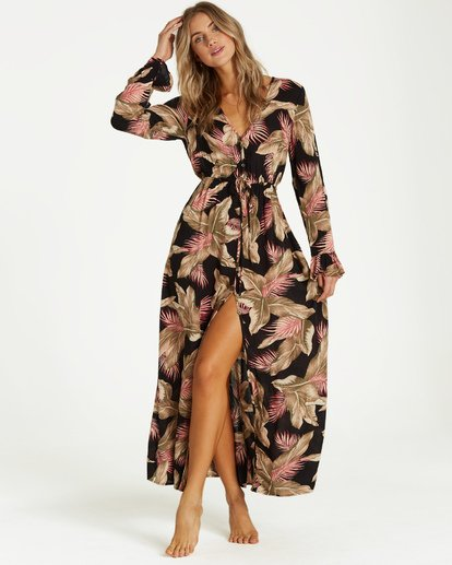 4 Valletta - Robe pour Femme Noir Q3DR14BIF9 Billabong
