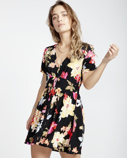 1 Twirl Twist - Dress for Women Black Q3DR15BIF9 Billabong