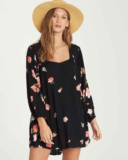 1 Beach Craze - Beach Craze Kleid für Frauen Schwarz Q3DR16BIF9 Billabong