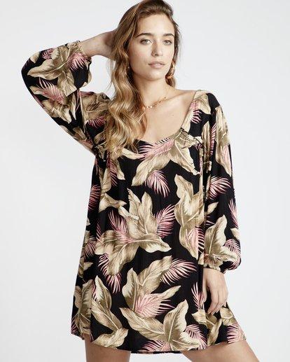 2 Beach Craze - Beach Craze Kleid für Frauen Schwarz Q3DR16BIF9 Billabong