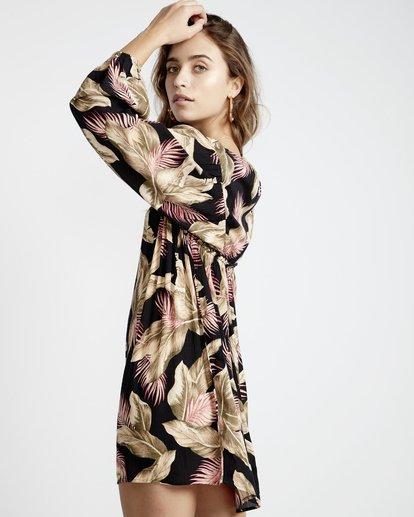 3 Beach Craze - Beach Craze Kleid für Frauen Schwarz Q3DR16BIF9 Billabong