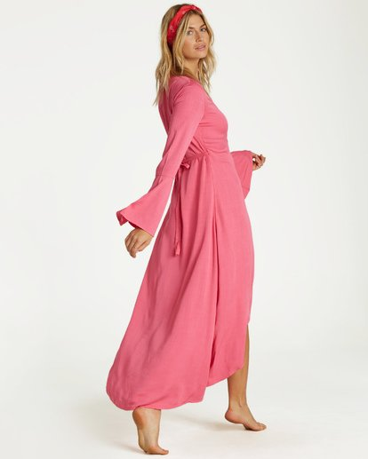 2 Flair Fare - Kleid für Frauen Rosa Q3DR50BIMU Billabong