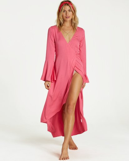 1 Flair Fare - Kleid für Frauen Rosa Q3DR50BIMU Billabong