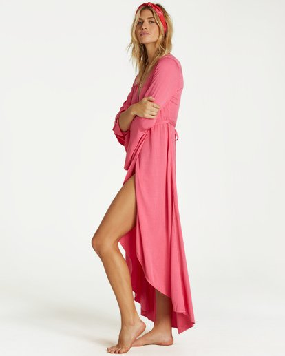 3 Flair Fare - Kleid für Frauen Rosa Q3DR50BIMU Billabong
