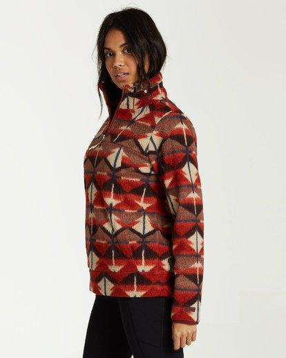6 Boundary - Sudadera con Medio Cuello para Mujer  Q3FL03BIF9 Billabong