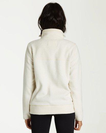 1 Boundary Mock - Fleece Jumper for Women White Q3FL04BIF9 Billabong