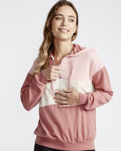 2 Pink Mood - Fleece für Frauen Rosa Q3HO08BIF9 Billabong