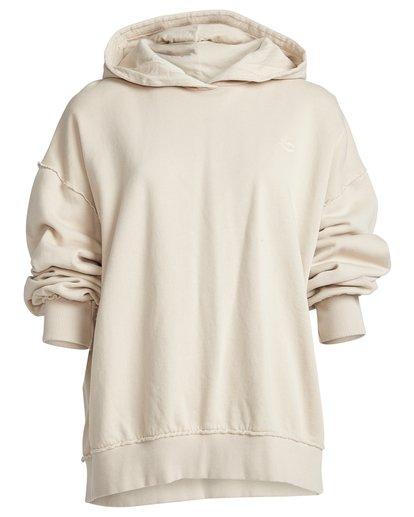 8 Organic - Hood Fleece für Frauen Weiss Q3HO09BIF9 Billabong