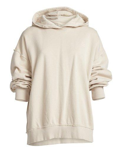 7 Organic - Hood Fleece für Frauen Weiss Q3HO09BIF9 Billabong