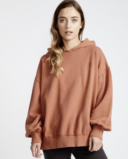 1 Organic - Hood Fleece für Frauen  Q3HO09BIF9 Billabong