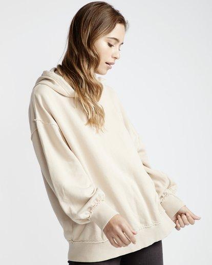 2 Organic - Hood Fleece für Frauen Weiss Q3HO09BIF9 Billabong