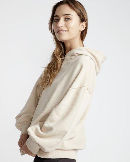 4 Organic - Hood Fleece für Frauen Weiss Q3HO09BIF9 Billabong