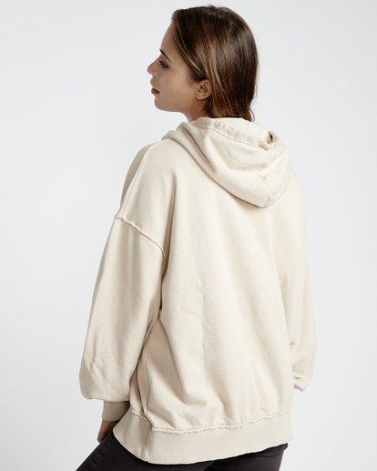 5 Organic - Hood Fleece für Frauen Weiss Q3HO09BIF9 Billabong