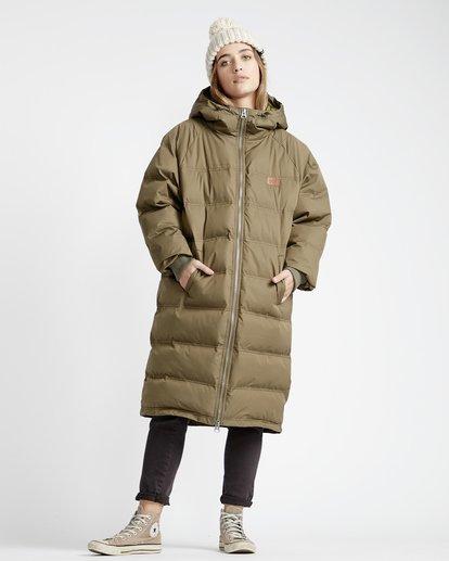 5 Northern - Jacke für Frauen Grün Q3JK06BIF9 Billabong